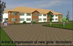 Artists                   impression of girls dormitory clock