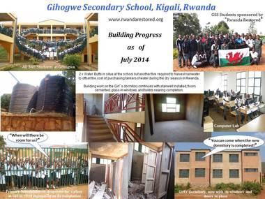 photo                   montage of building work - July 2014